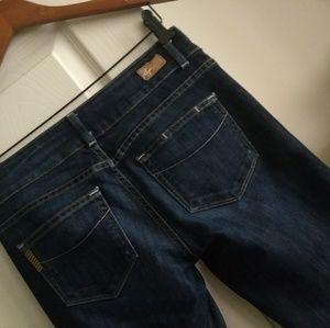 Paige Jeans 27 Actual 30x28 *Snag, see details
